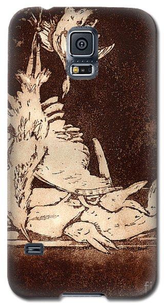 Old Masters Still Life - With Great Bittern Duck Rabbit - Nature Morte - Natura Morta - Still Life Galaxy S5 Case
