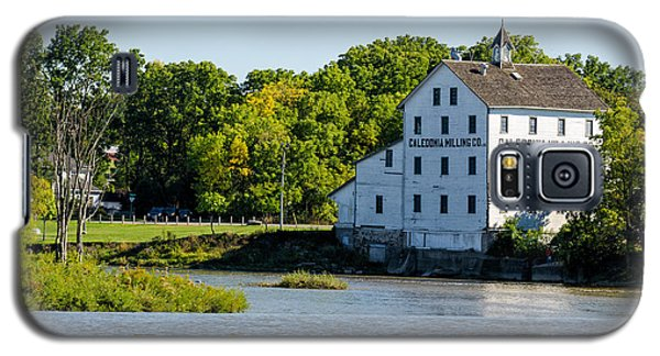 Old Mill On Grand River In Caledonia In Ontario Galaxy S5 Case