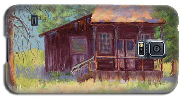 Galaxy S5 Case featuring the painting Old Mining Store by Nancy Jolley