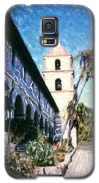 Old Mission Santa Barbara Walkway Galaxy S5 Case