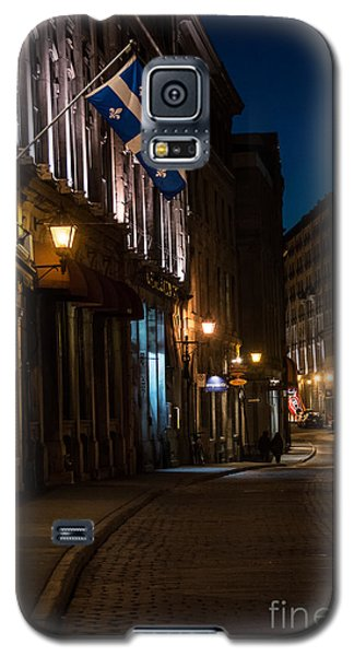 Old Montreal At Night Galaxy S5 Case