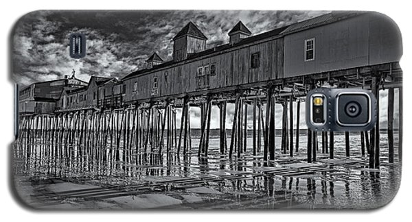 Old Orchard Beach Pier Bw Galaxy S5 Case