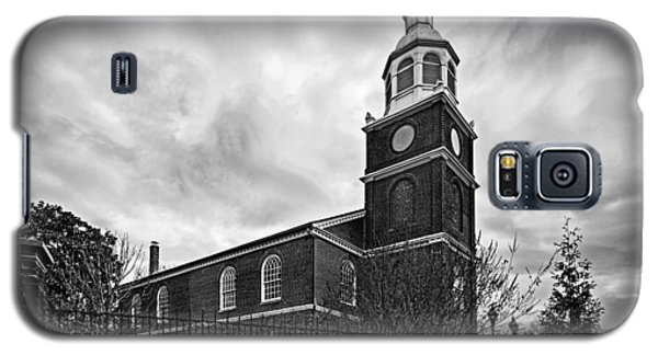 Old Otterbein Church In Black And White Galaxy S5 Case