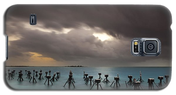 Old Pier In The Florida Keys Galaxy S5 Case