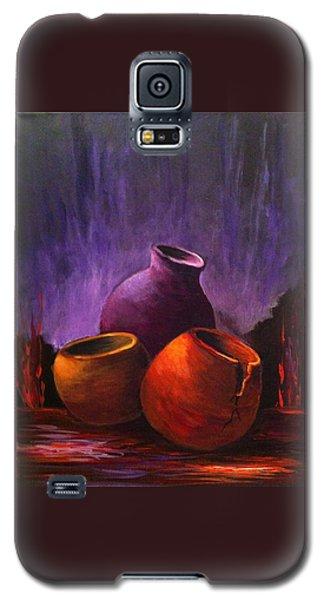 Old Pots 2 Galaxy S5 Case by Bozena Zajaczkowska