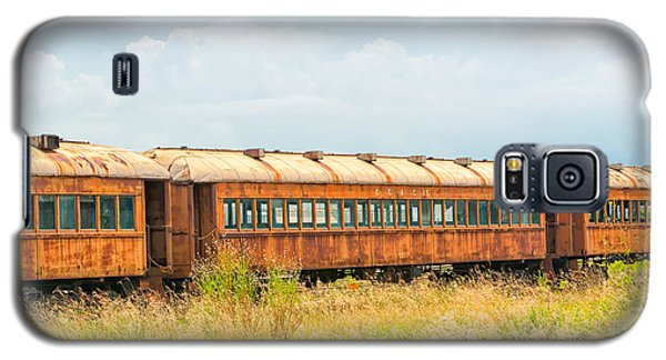Old Railroad Passenger Cars Galaxy S5 Case