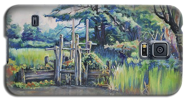 Old Rice Field Trunk Galaxy S5 Case