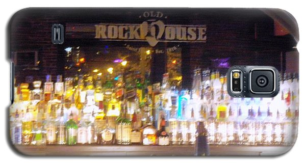 Galaxy S5 Case featuring the photograph Old Rock House Bar by Kelly Awad