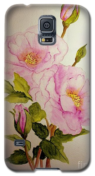 Old Roses From The Garden Galaxy S5 Case by Carol Grimes