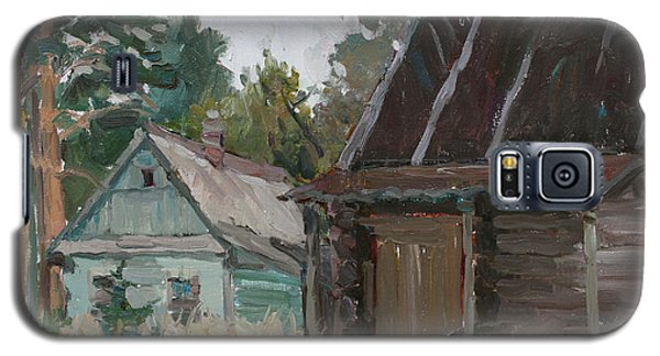 Old Russian Bath Galaxy S5 Case