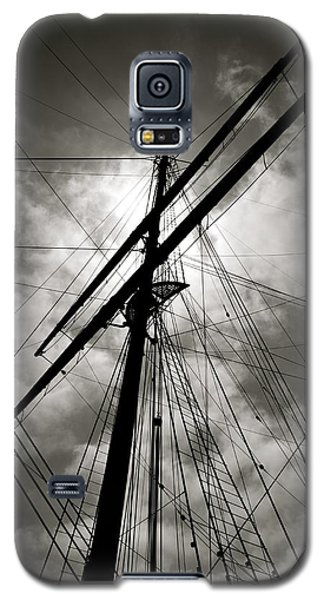 Galaxy S5 Case featuring the photograph Old Sailing Ship by Alex King