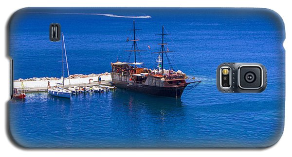 Old Sailing Ship In Bali Galaxy S5 Case