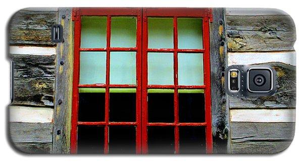 Old Salem Window Fourteen Galaxy S5 Case