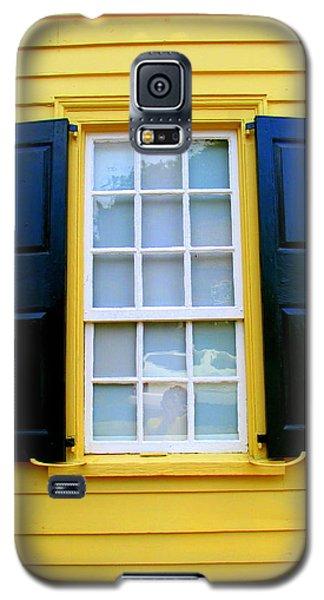 Old Salem Window Three Galaxy S5 Case