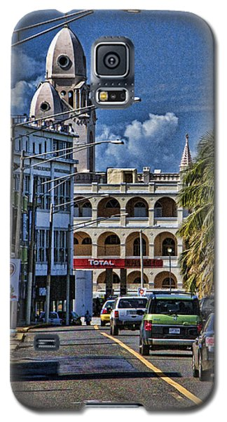 Old San Juan Cityscape Galaxy S5 Case by Daniel Sheldon
