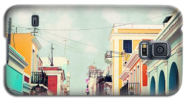 Galaxy S5 Case featuring the photograph Old San Juan Special Request by Kim Fearheiley