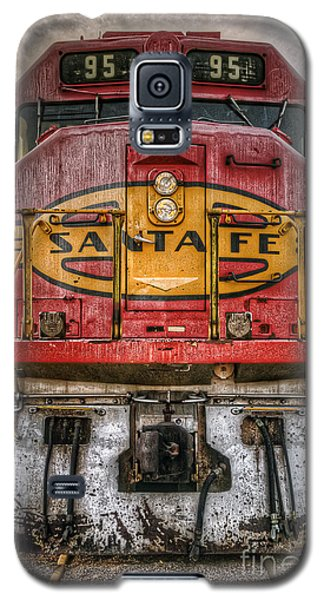 Old Santa Fe Engine Galaxy S5 Case by Eddie Yerkish