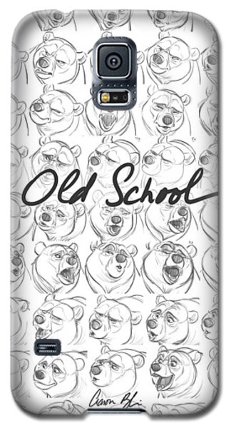 Galaxy S5 Case featuring the digital art Old School by Aaron Blaise