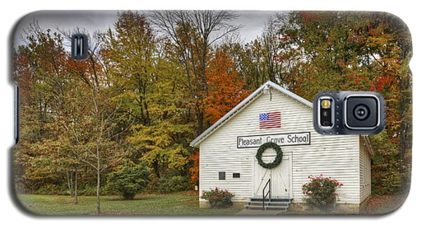 Old School House At Panther Creek Galaxy S5 Case