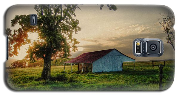 Galaxy S5 Case featuring the photograph Old Shed by Savannah Gibbs