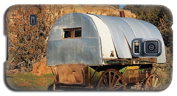 Old Sheepherder's Wagon Galaxy S5 Case