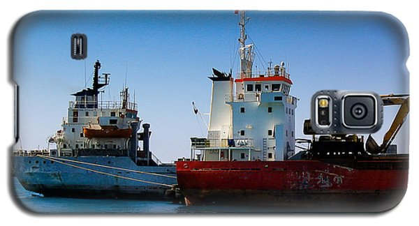 Galaxy S5 Case featuring the photograph Old Ships by Kevin Desrosiers