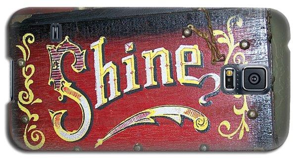 Old Shoe Shine Kit Galaxy S5 Case