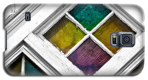 Old Stained Glass Windows Galaxy S5 Case