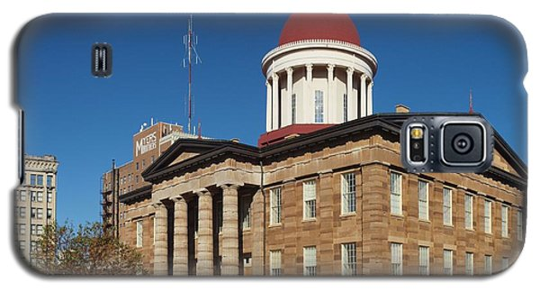 Old State Capital Springfield Illinois Galaxy S5 Case by Joshua House