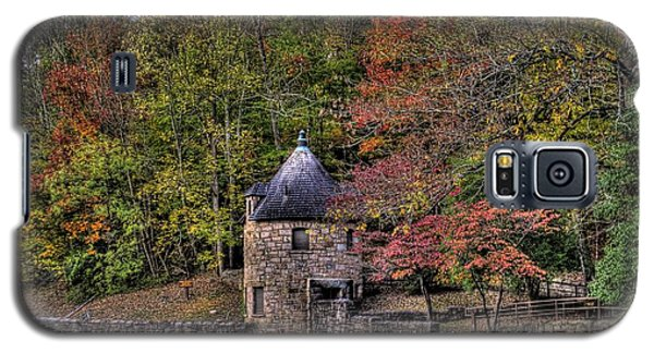 Galaxy S5 Case featuring the photograph Old Stone Tower At The Edge Of The Forest by Jonny D