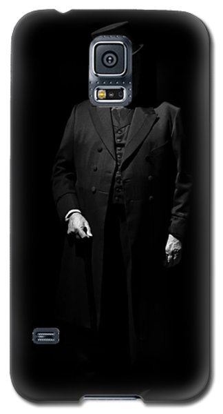Vintage Gentlemen With Tall Hat - Style Has Not Deadline Galaxy S5 Case by Pedro Cardona