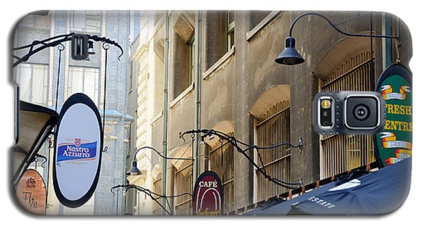 Old-style Signs Above A Melbourne Laneway Galaxy S5 Case