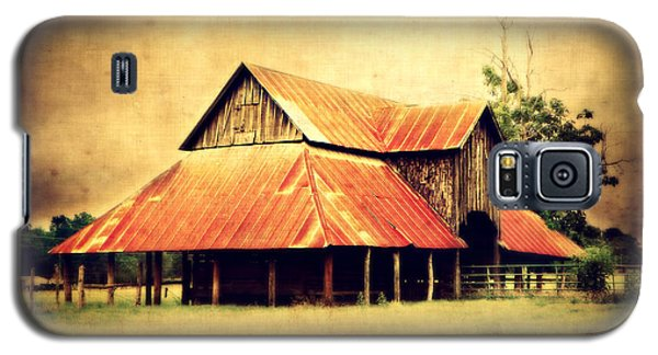 Old Texas Barn Galaxy S5 Case