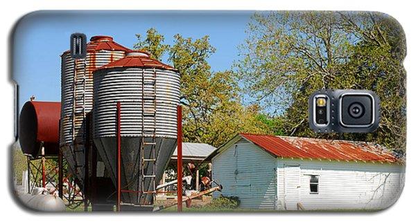 Old Texas Farm Galaxy S5 Case