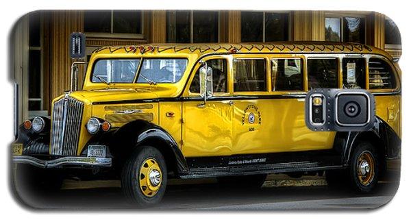 Old Time Yellowstone Bus II Galaxy S5 Case