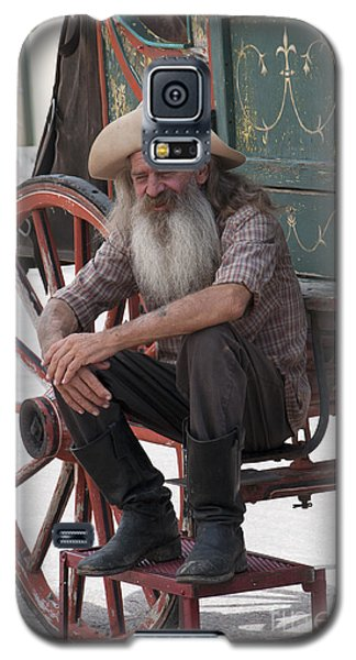 Old Timer Watching The Dying Of The West Galaxy S5 Case