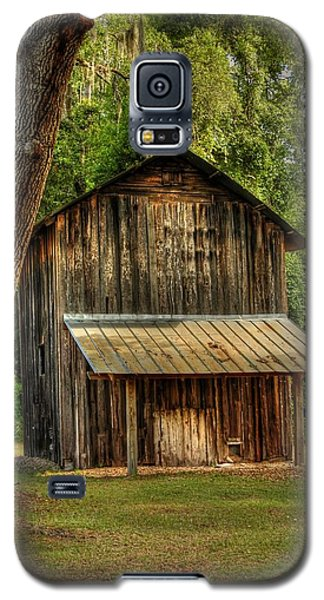 Old Tobacco Barn Galaxy S5 Case by Donald Williams