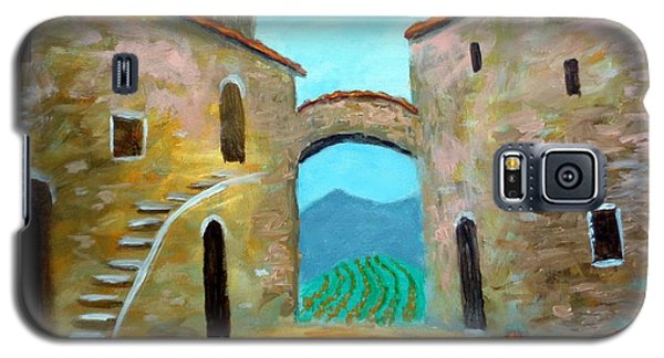 Old Town Of Tuscany Galaxy S5 Case
