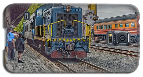 Old Town Sacramento Railroad Galaxy S5 Case by Jim Thompson