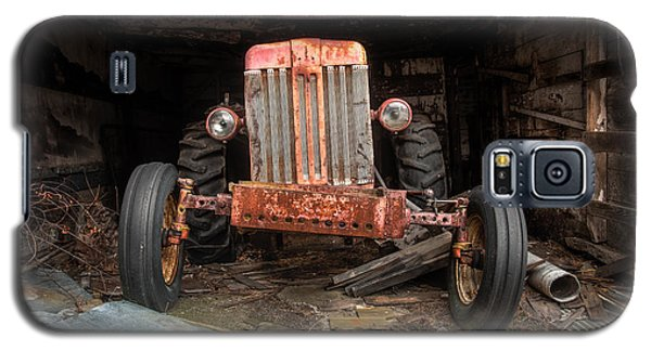 Old Tractor Face Galaxy S5 Case