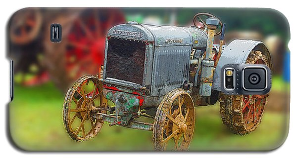 Galaxy S5 Case featuring the photograph Old Tractor Print by B Wayne Mullins