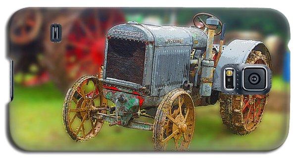 Old Tractor Print Galaxy S5 Case by B Wayne Mullins