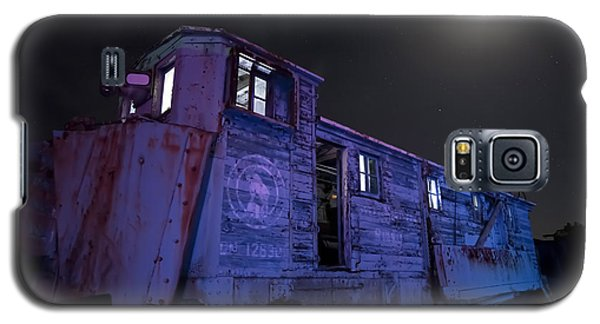 Old Train Trail Snow Plow Galaxy S5 Case