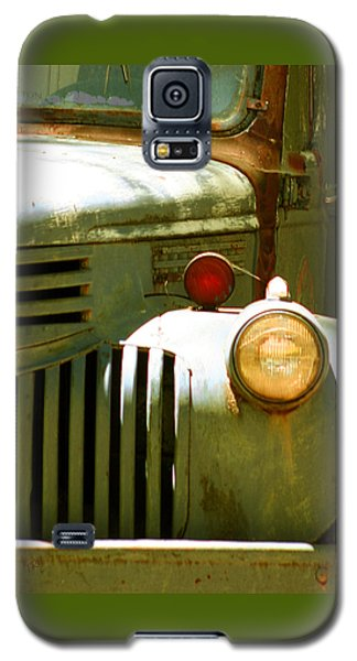 Old Truck Abstract Galaxy S5 Case