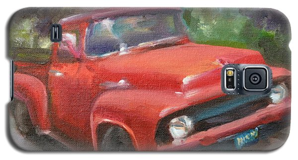 Old Truck Galaxy S5 Case by Lindsay Frost