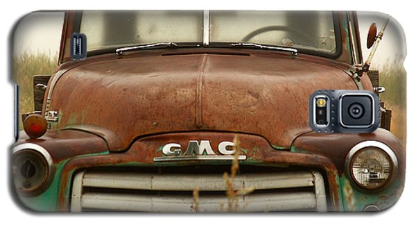 Galaxy S5 Case featuring the photograph Old Truck by Steven Reed
