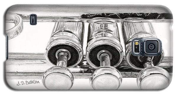 Trumpet Galaxy S5 Case - Old Trumpet Valves by Sarah Batalka