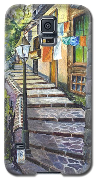 Old Village Stairs - In Tuscany Italy Galaxy S5 Case