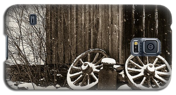 Old Wagon Wheels Galaxy S5 Case