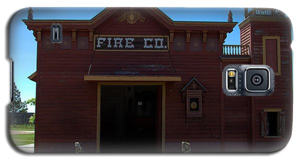 Old West Fire Station Galaxy S5 Case